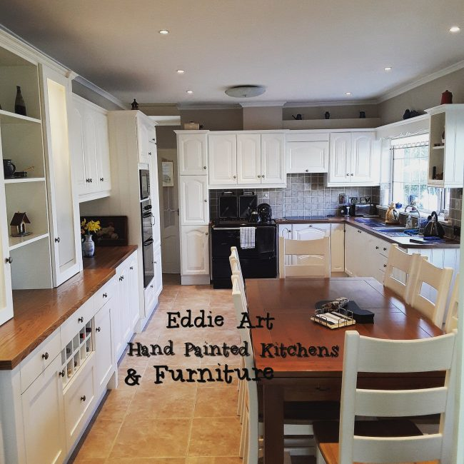 hand painted kitchen limerick